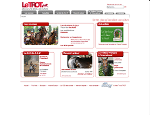 Le Cheval Français website link