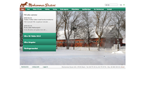Menhammar website