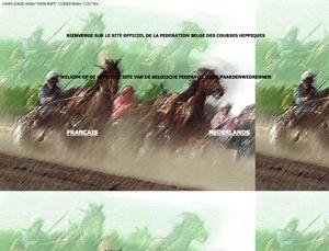 Belgische Federatie voor Paardenwedrennen website